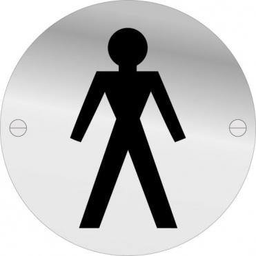 Male Toilet Door Signs