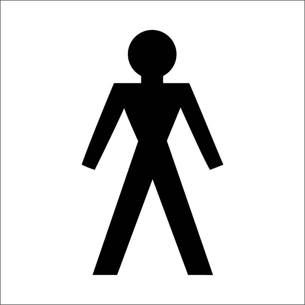 Female toilet symbol signs from key signs uk male toilet symbol signs biocorpaavc Choice Image