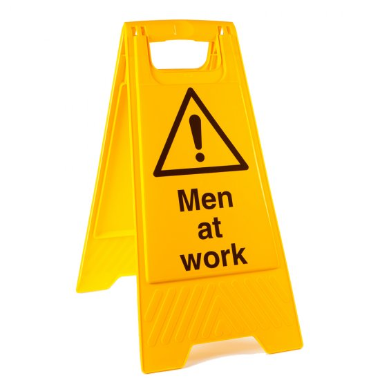 Men At Work Floor Stands