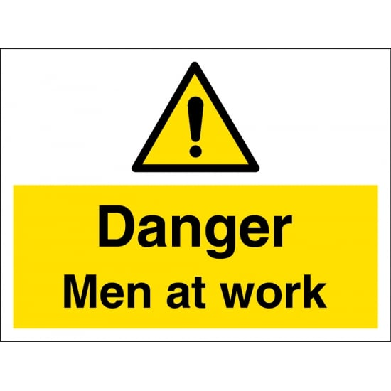 Men At Work Signs