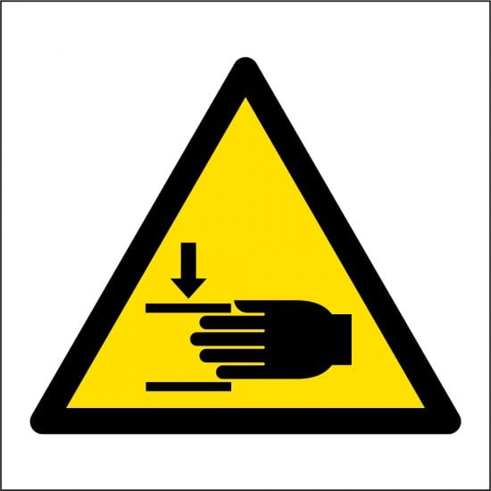 Mind Your Hands Safety Signs