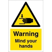 Mind Your Hands Signs