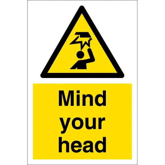 Mind Your Head Signs