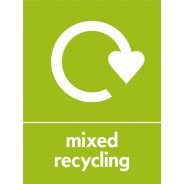 Mixed Recycling Signs