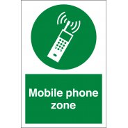 Mobile Phone Zone Signs