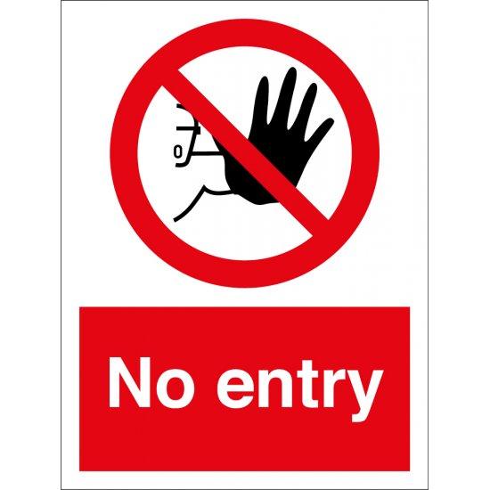 No Entry Signs