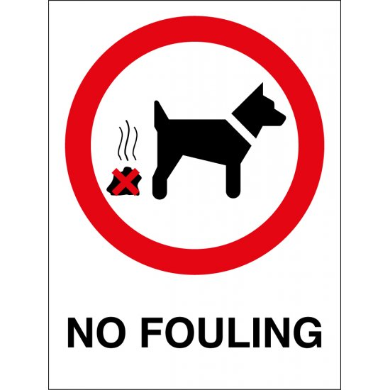 No Fouling Signs