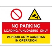 No Parking Loading And Unloading Only Signs
