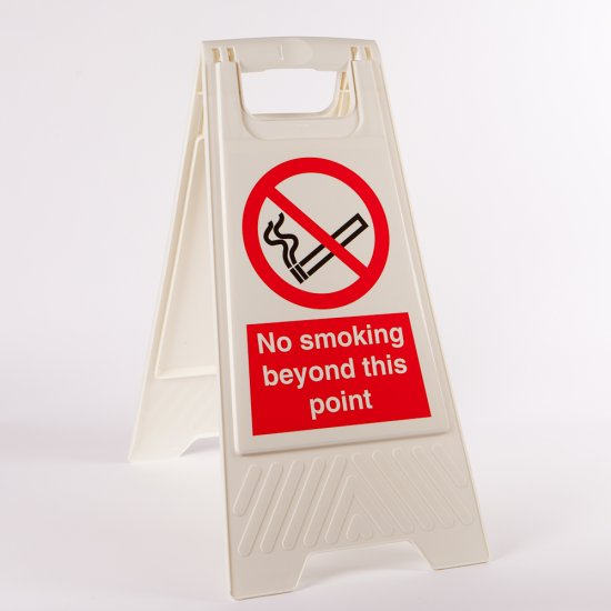 No Smoking Beyond This Point Floor Stands