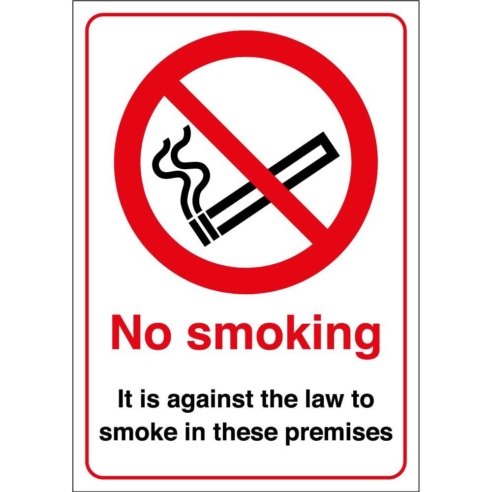 no smoking signs from key signs uk