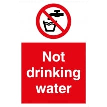 Not Drinking Water Signs