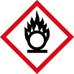 Oxidiser GHS Labels