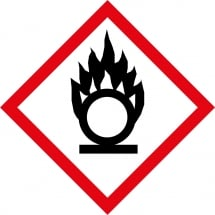 Oxidiser GHS Labels
