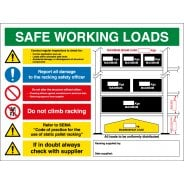 Pallet Racking Safety Signs