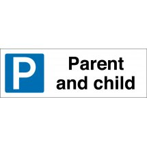 Parent And Child Parking Signs