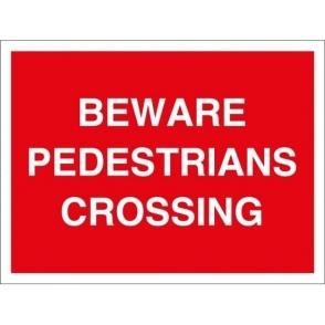 Pedestrians Crossing Signs
