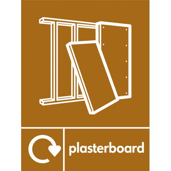 Plasterboard Waste Recycling Signs