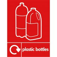 Plastic Bottles Recycling Signs