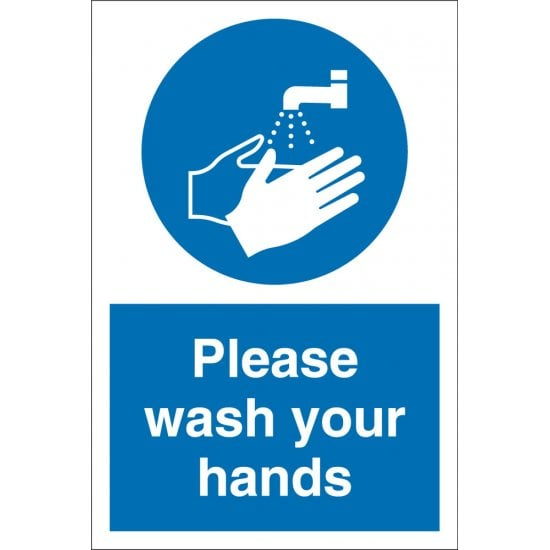 Please Wash Your Hands Signs