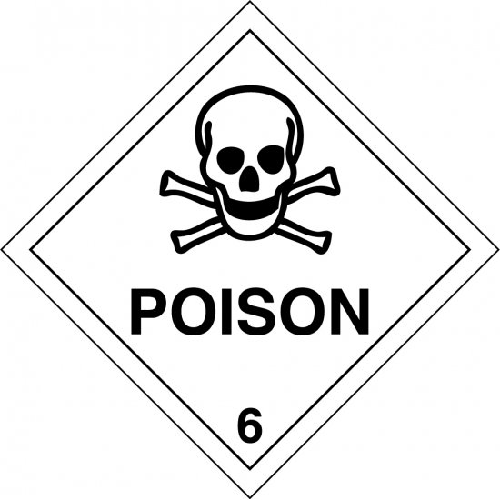 Poison 6 Labels
