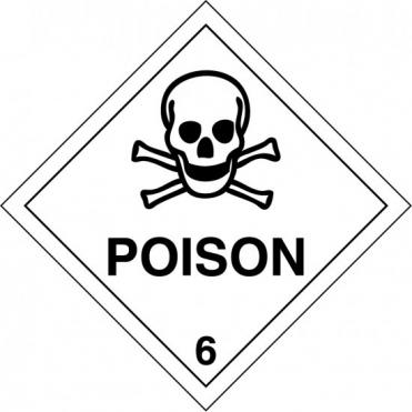 Poison 6 Labels