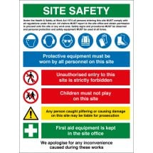 PPE Site Safety Signs
