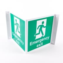 Projecting Emergency Exit Signs