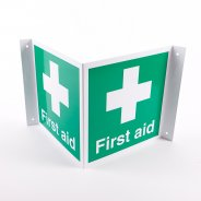 Projecting First Aid Signs