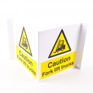 Projecting Fork Lift Trucks Signs