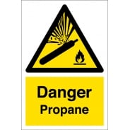 Propane Hazard Warning Signs