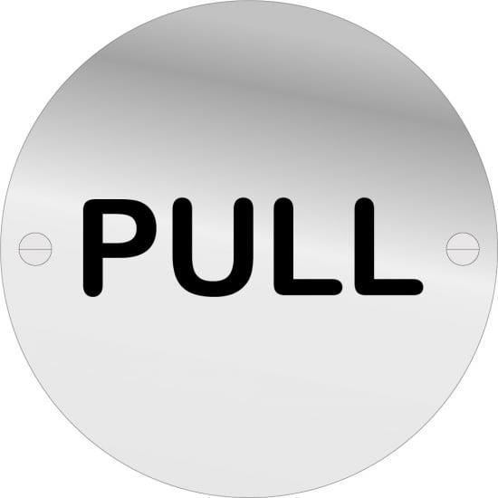 Pull Door Signs