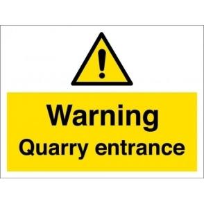 Quarry Entrance Signs