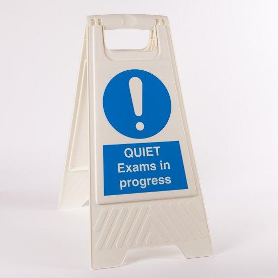 Quiet Exams In Progress Floor Stands