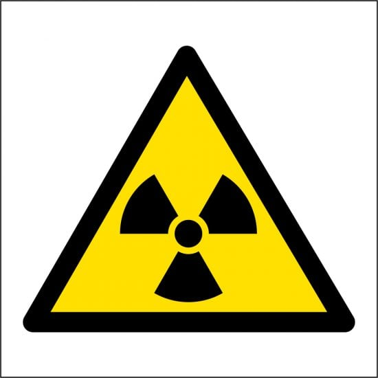Radiation Safety Sign