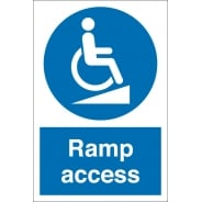 Ramp Access Signs