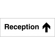 Reception Arrow Up Signs