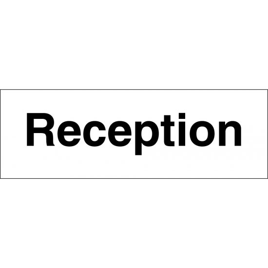 Reception Signs