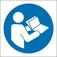 Refer To Instruction Booklet Safety Signs