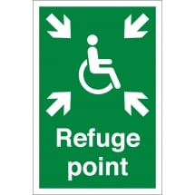 Refuge Point Signs