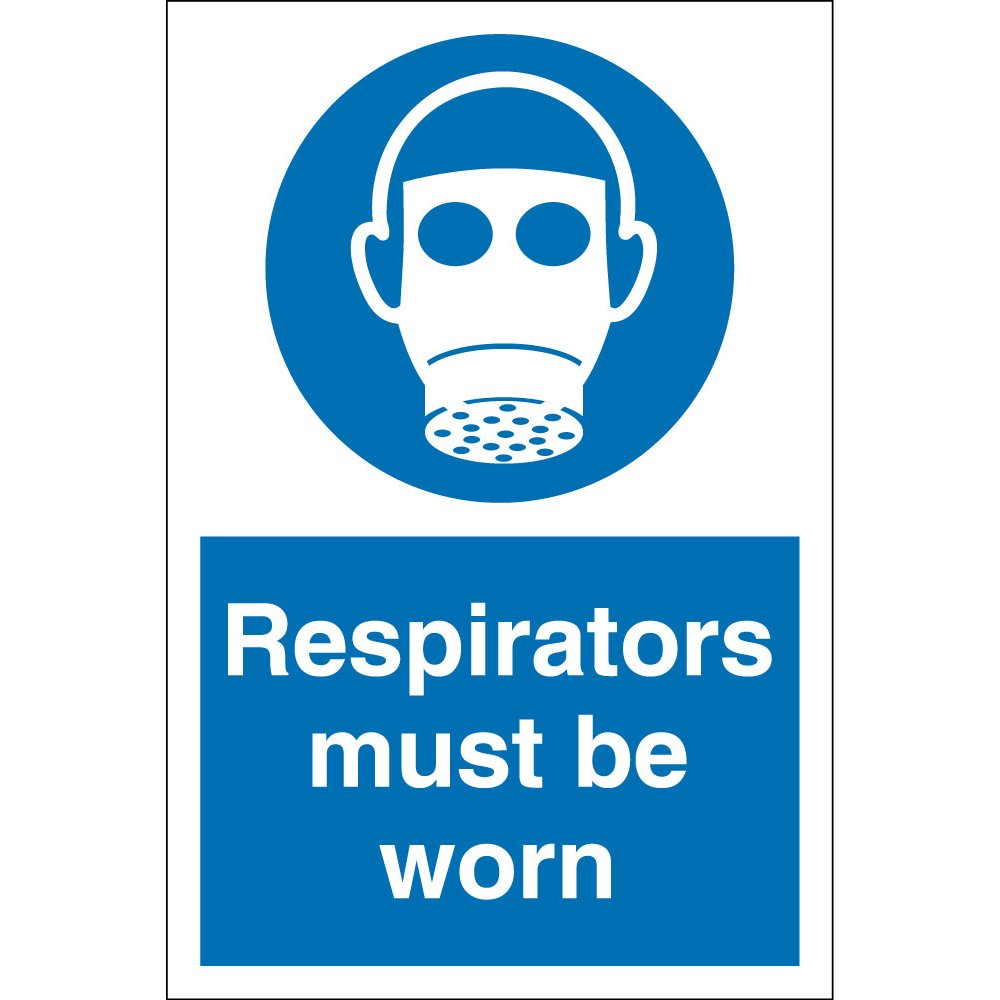 Respirators Must Be Worn Signs - from Key Signs UK
