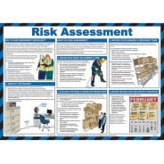 Risk Assessment Posters 590mm x 420mm