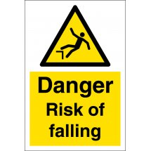 Risk Of Falling Signs