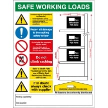 Safe Working Loads Signs