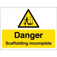 Scaffolding Incomplete Signs