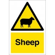 Sheep Warning Signs