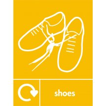 Shoes Recycling Signs