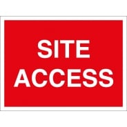 Site Access Signs