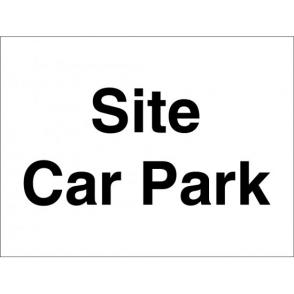 Site Car Park Signs