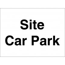 Site Car Park Signs