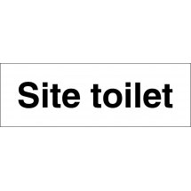Site Toilet Signs